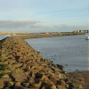 The marina and harbour at Amble