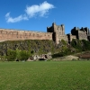 Bamburgh Castle from the Cricket Pitch
