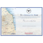 St. Oswalds Way Certificate Pack