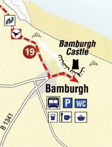 Bamburgh new route
