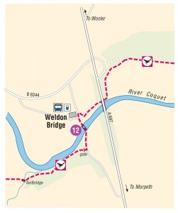 Weldon Bridge new route
